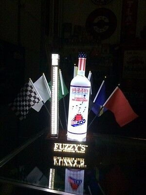 2017  Fuzzy vodka lighted stand