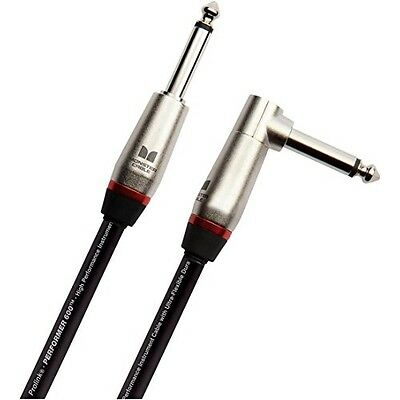 Monster Performer 600 Instrument Cable - 6' Straight-Angle