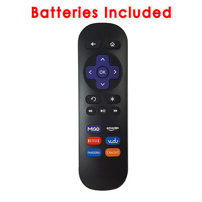 Replacement Roku Remote 05 for Roku 1/2/3/4 LT HD XD XS Vudu MGO