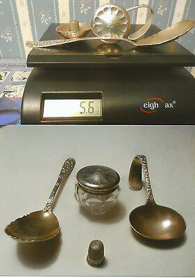 Four Piece Mixed Sterling Lot, Please See Description