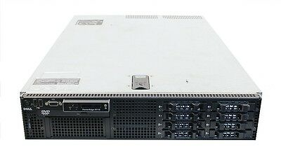 DELL PowerEdge R710 Server 2X Quad Core 2.26GHz 36GB RAM 2X146GB 10K PERC6i