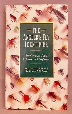 Great fly Fishing Book:  THE ANGLER'S FLY IDENTIFIER, in Excellent Condition