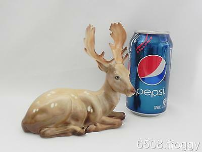 Early VINTAGE BESWICK *STAG* Lying Down #954 Retired 1975 - Excellent!