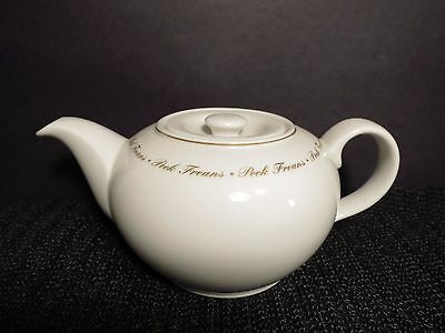 "Royal Doulton Teapot 4"" EUC Peek Frean's Cookies Biscuits Porcelain Advertising"