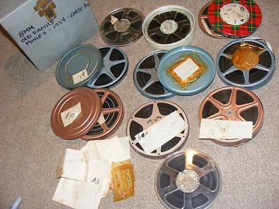 8mm Film Home Movie Lot Old Family Movies 1954 - 70's - #19