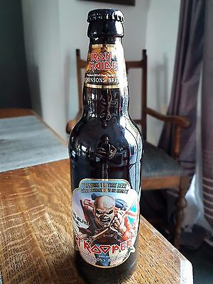 Iron Maiden Empty Bottle Limited Edition Robinsons Brewery Canada