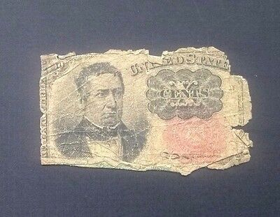 US Ten (10) Cent Fractional Note Currency, Fifth Issue