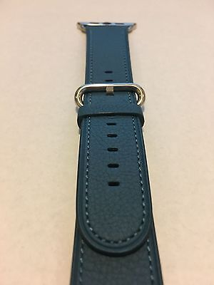 Genuine Apple  Watch Band -  42mm Turquoise Classic Buckle