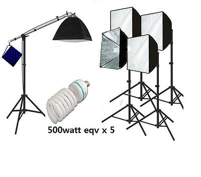 Photography quick set up softbox Continuous Light 2500 watt Video portrait Light