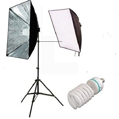 Photography quick set up softbox Continuous Lighting Video portrait Light kit