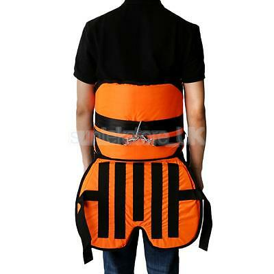 Fishing Harness with Cushion Adjustable Belt Thickened Pad Distributing Load