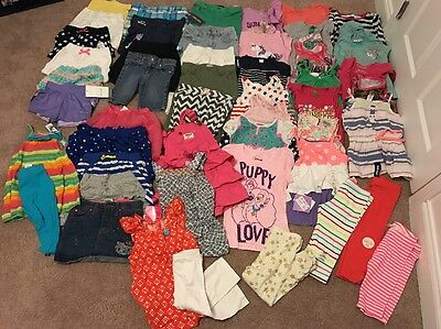Huge Lot Of Girls Summer Clothes-size 4/4t