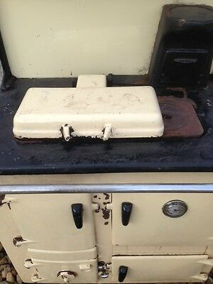 Cast iron old wood stove heater and oven