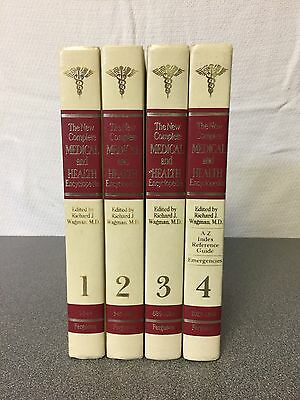 The New Complete Medical and Heath Encyclopedia set - 4 Pieces
