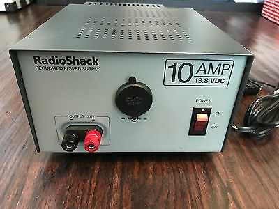 12-Volt Power Supply Regulated 10 AMP