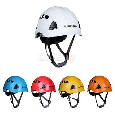 Safety Helmet Rock Climbing Caving Rappel Rescue Kayak Protection Gear Equipment