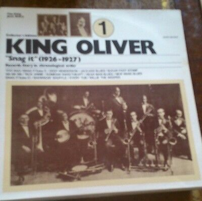 King Oliver - Snag it 1926-1927 ~ Record Story Vol.1.