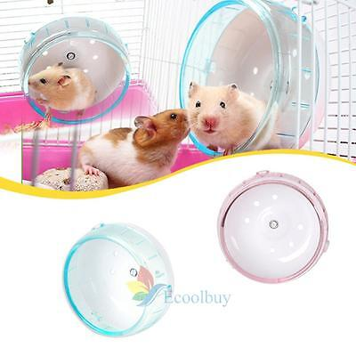 HOT Hamster Souris Rat Exercice plastique silencieux Courir Spinner Wheel Pet F