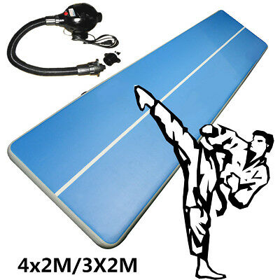 4x2/3x2m Aufblasbar Air Tumbling Track Mat Tricking Floor Gymnastik Cheerleading