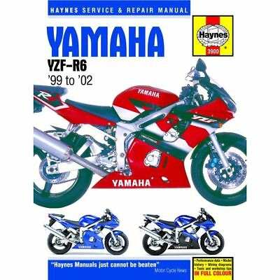 Manual Haynes for 2002 Yamaha YZF R6 (5MTB)