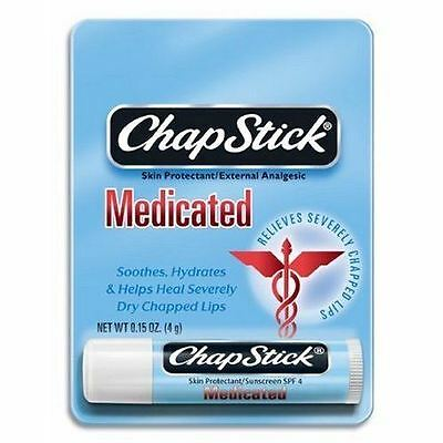 ChapStick Lip Balm - Medicated Single Lip Health