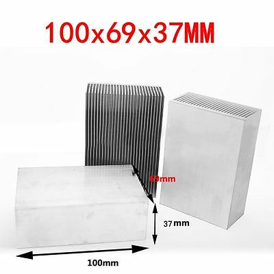 100x69x37mm Aluminum Heatsink Cooling Fin Radiator for LED Transistor power IC