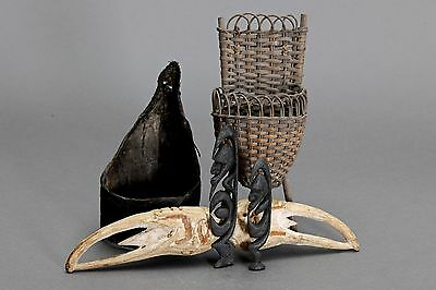 :: A Group of New Guinea Artefacts