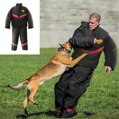 Full Body Protection Bite Suit Police K9 Dog Training Jacket Coat Durable 2 Size
