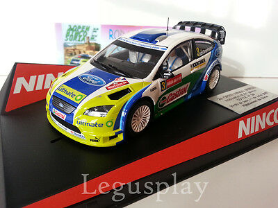 SCX Scalextric Slot Ninco 50439 Ford Focus WRC Wales Rally GB '06 Gronholm