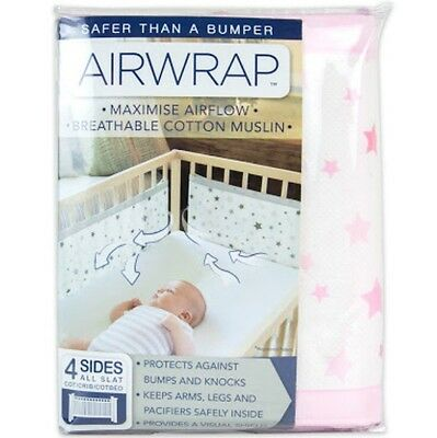 Airwrap Cot Bumper Like New