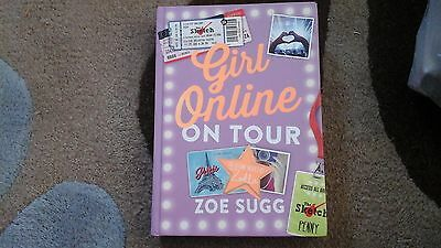 Signed Girl Online on Tour Zoella Book