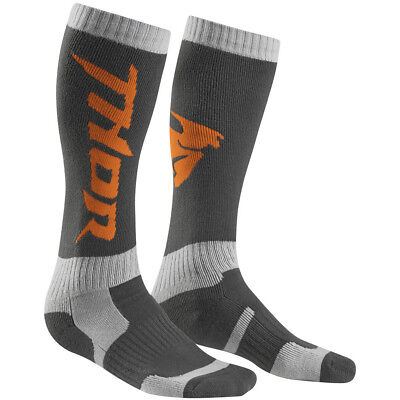 Thor Socken MX Cool Grau/Orange