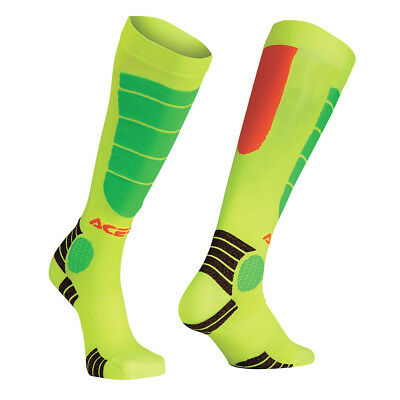 Acerbis Socken MX Impact Fluo Orange/Gelb