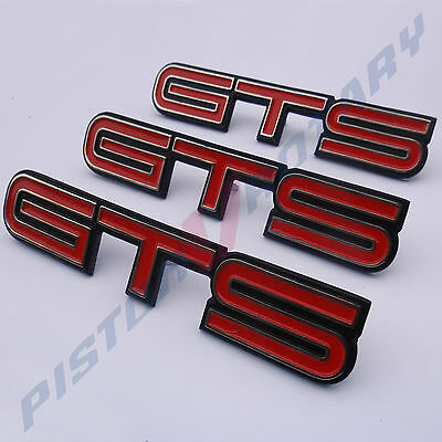 GTS Front Guards & Boot Badges x3 New for HQ Monaro Holden V8 GM 308 253 350 HJ