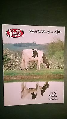 Sire Power Inc. 1994 Holstein Dairy Cattle Sire Directory