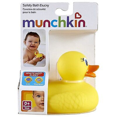 Baby Bath Duck Water Temperature Indicator Bathing Mold Protect Floating Toy