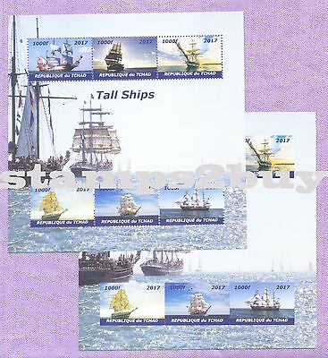 Tall Ships 2017 Stamp 6 Value perf/imperf Sheetlets MINT MNH UKpost