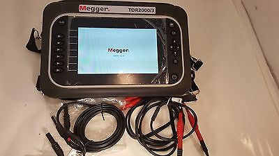 Megger TDR2000/3 Advanced Dual Channel Time Domain Reflectometer  used very good