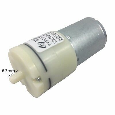 DC 6V Air Pump Motor kits For Soda Dispenser Drink Fountain Machine Homemade DI