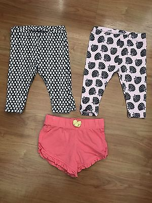 Target Baby Girl Tights X 3 And Shorts X 1 3-6 Months