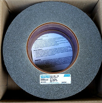 "Medium Convolute Wheel, Metal Deburring, Edge Blending, Finishing,10"" x 1"" x 5"""