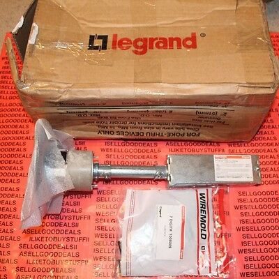 Legrand Wiremold RC7ATCAL Poke-Thru Device Assembly, Aluminum New