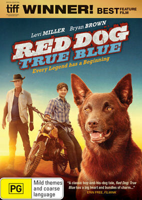 Red Dog 2 True Blue DVD R4 New!