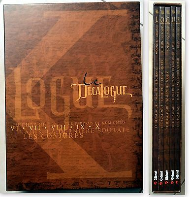 Bd -Le Decalogue - Coffret Tomes 6 A 10 Tbe