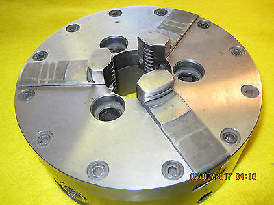 "6"" Whiton 3 jaw lathe chuck Atlas South Bend Clausing machinist tool"