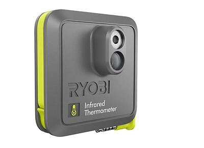 Ryobi Phone Works Infrared Thermometer HD Image/Videos share via email Soc Netwo