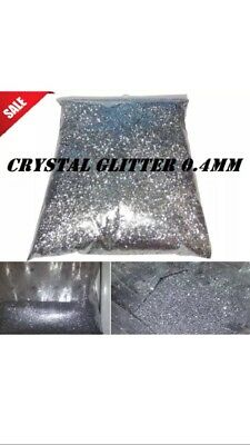 Crystal Glitter for emulsion paint wall, 500g Diamond Silver GREAT DEAL