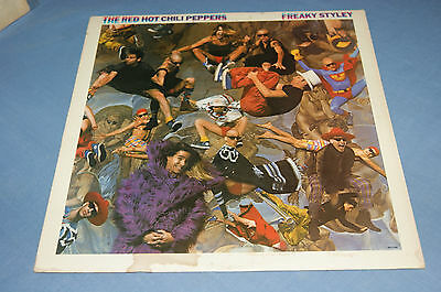 RED HOT CHILI PEPPERS - Freaky Styley - EMI America 85 Lp ORIG press, Near MINT!