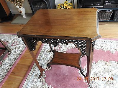 Antique Walnut early 20th century table
