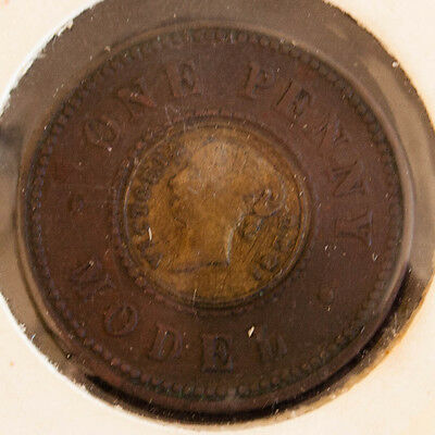 Great Britain One Penny Model Victoria